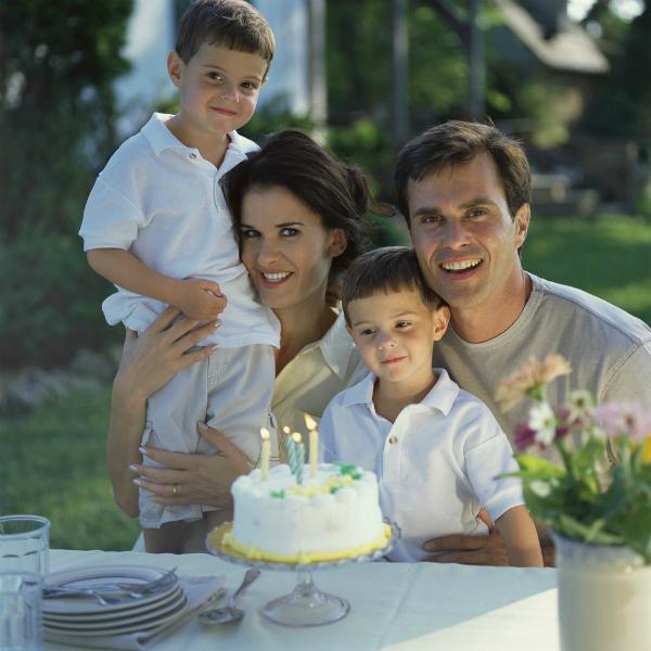 family cake Ljubav kao temelj zdravlja