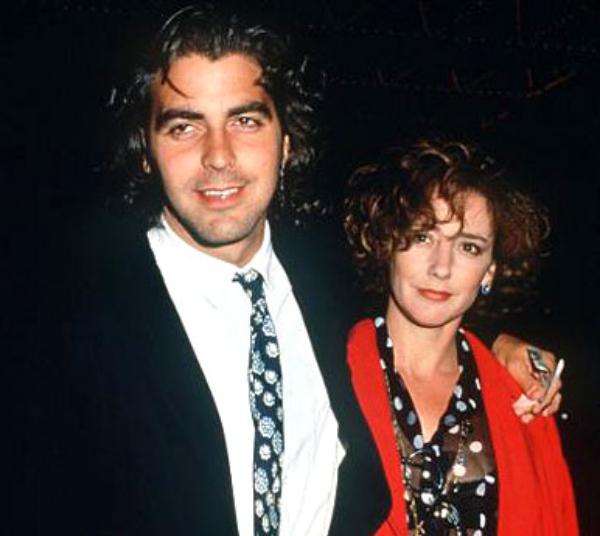 george clooney talia balsam ehefrau Angelina i Brad su moja antibaby pilula!   George Clooney