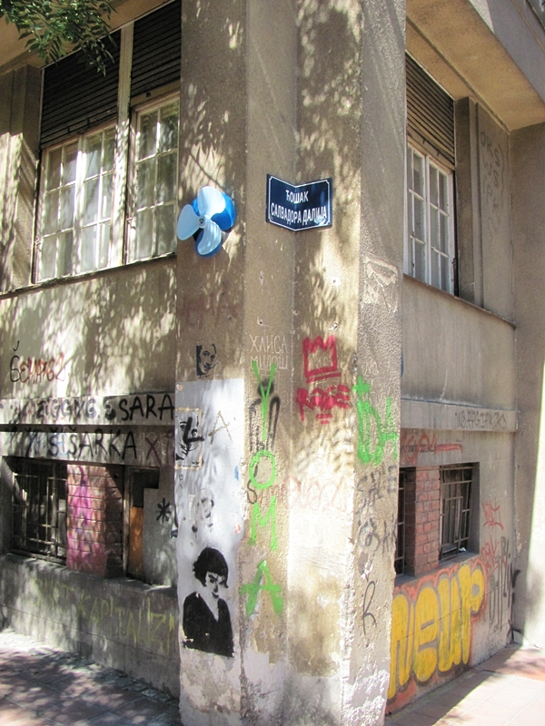 grafiti 18 Wannabe Street Art: Gornji Dorćol
