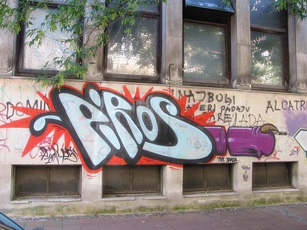 grafiti 20 Wannabe Street Art: Gornji Dorćol