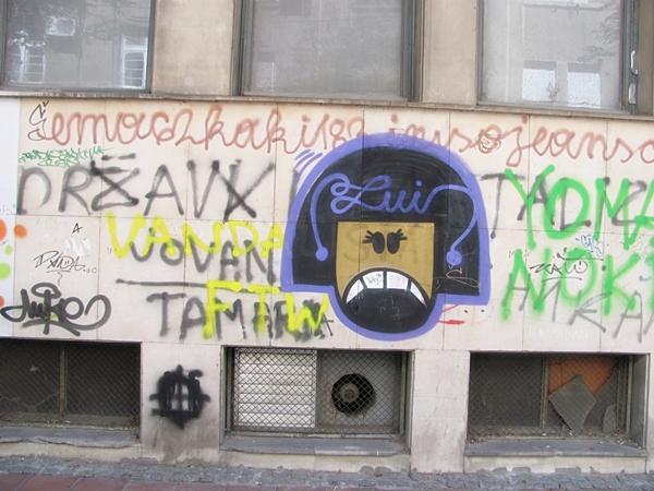 grafiti 25 Wannabe Street Art: Gornji Dorćol
