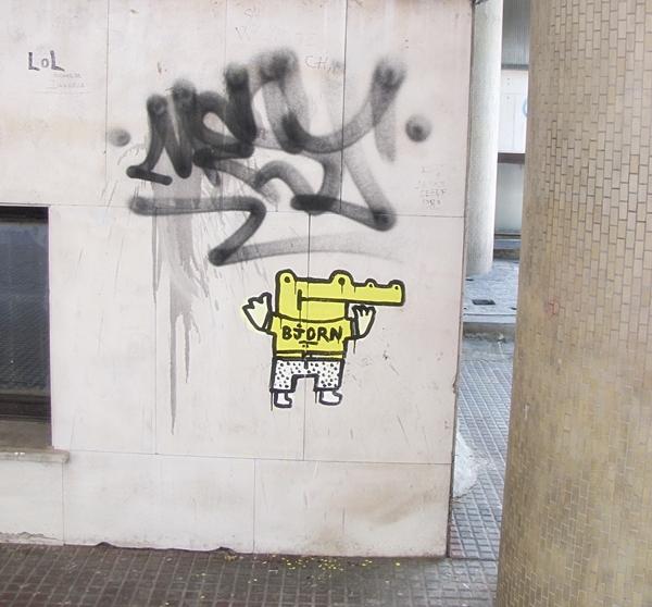 grafiti 401 Wannabe Street Art: Gornji Dorćol