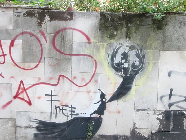 grafiti 49 Wannabe Street Art: Gornji Dorćol