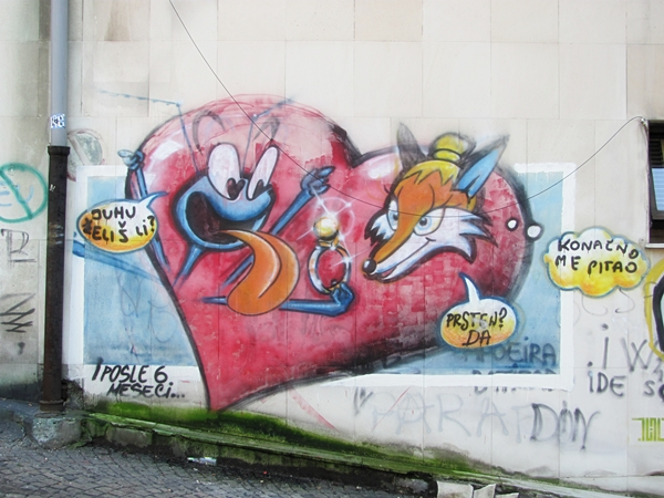grafiti 51 Wannabe Street Art: Gornji Dorćol