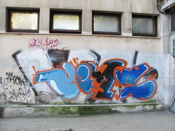 grafiti 53 Wannabe Street Art: Gornji Dorćol