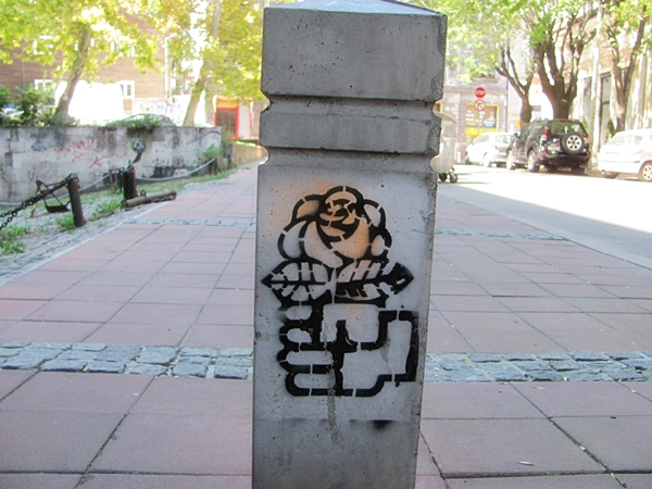 grafiti 57 Wannabe Street Art: Gornji Dorćol