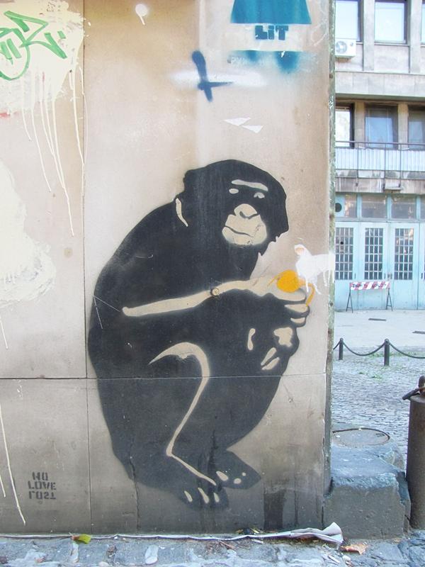 grafiti 59 Wannabe Street Art: Gornji Dorćol