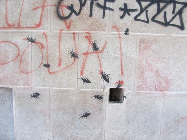 grafiti 97 Wannabe Street Art: Gornji Dorćol