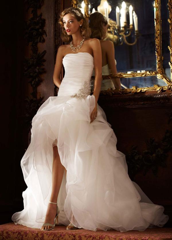 high low wedding dress Udavača od rođenja
