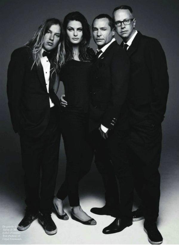 isabeli fontana21 Isabeli Fontana za Vogue Paris   septembar 2011.