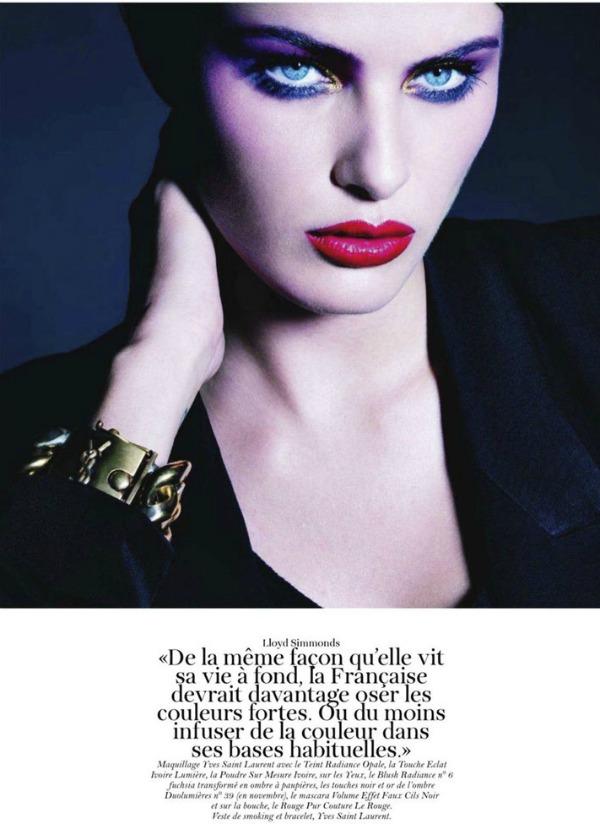 isabeli fontana51 Isabeli Fontana za Vogue Paris   septembar 2011.