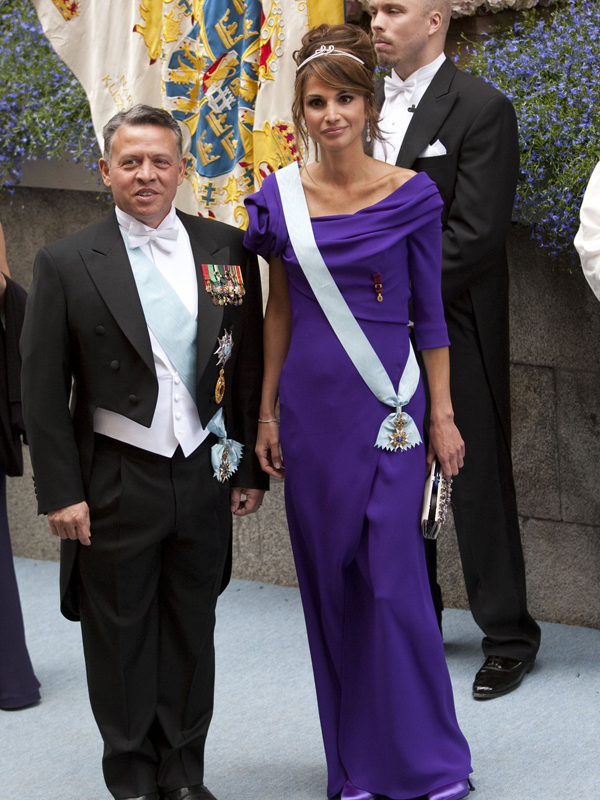 kung abdullah ii av jordanien Royal Style: Queen Rania of Jordan
