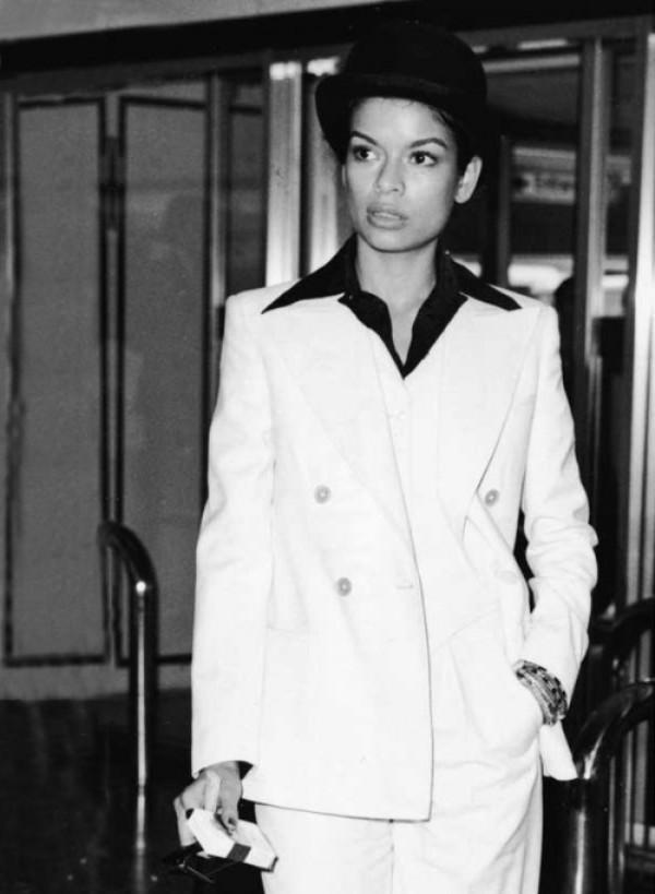 mick jagger bianca fashion style harry caresse 003 Rock & Roll Fashion   Bianca Jagger