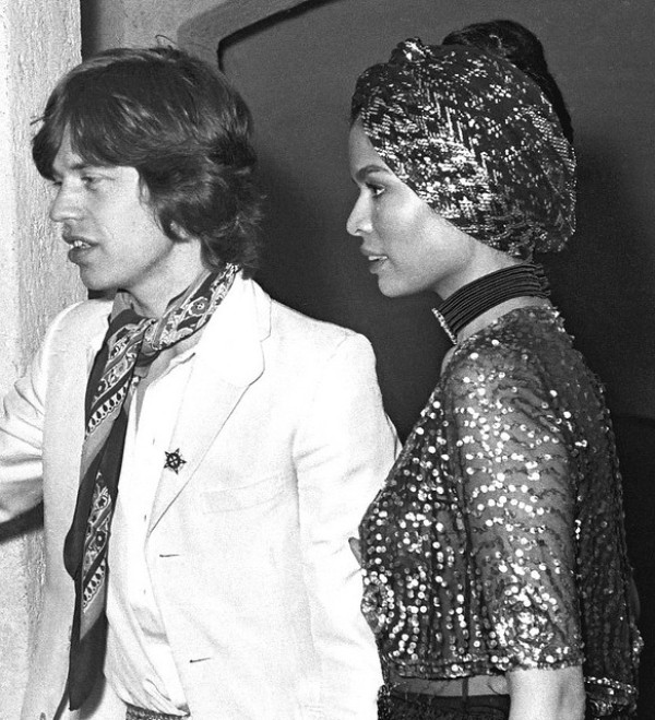 Rock & Roll Fashion   Bianca Jagger