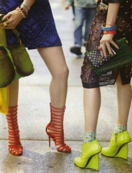 "Vogue UK avgust 2011. godine – editorijal ""Style Hunter"""