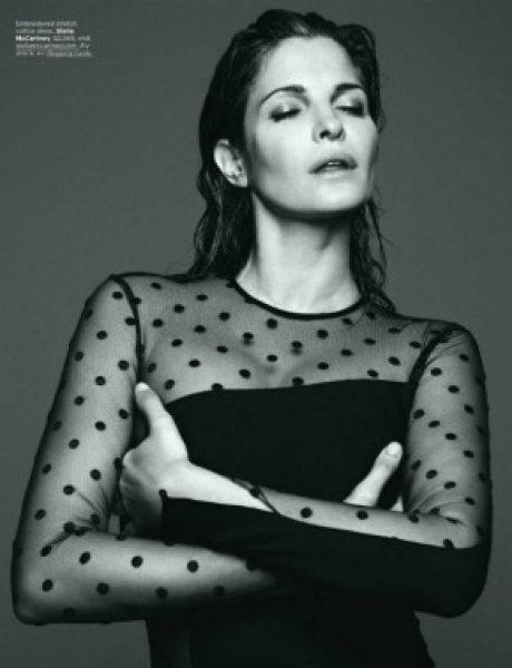 "Stephanie Seymour  za ""Elle US"" – septembar 2011."