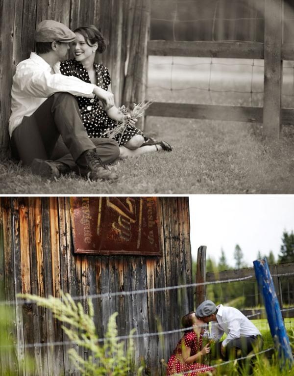 notebook engagement photos 05 Under the Veil of a Fairytale
