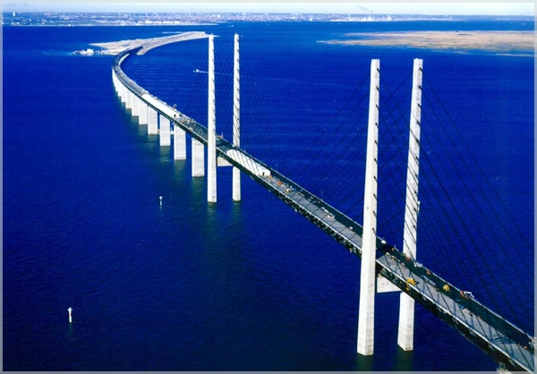 oeresund1 Najlepši mostovi sveta: Øresundsbron, Eresundski moreuz