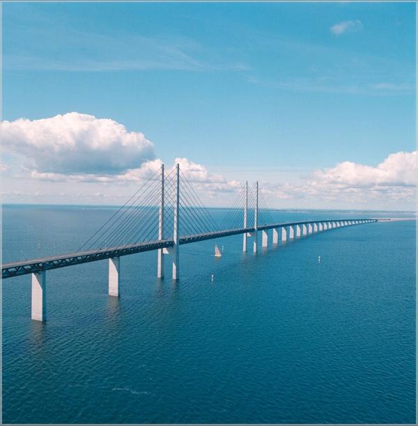 oresund bridge denmark photo oresund konsortiet Najlepši mostovi sveta: Øresundsbron, Eresundski moreuz