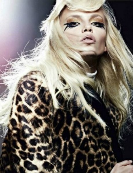 "Natasha Poly za ""Vogue Russia"" – septembar 2011."