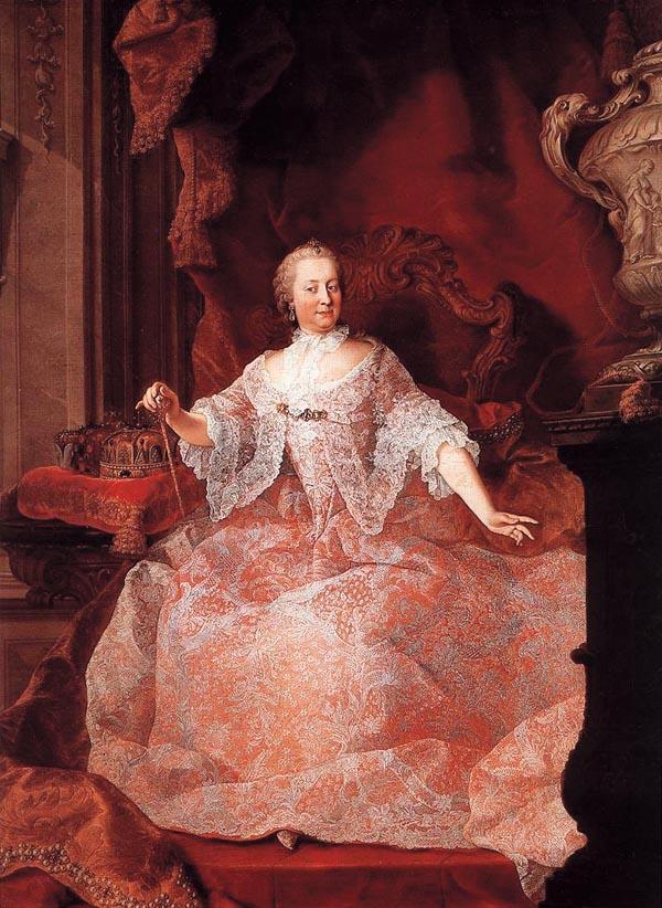 portret Žene koje su vladale svetom – Marija Terezija