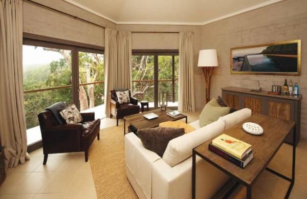 sydney beachhouse living room 665x431 Vikendica iz bajke