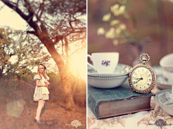 wonderland engagement photos 03 Under the Veil of a Fairytale