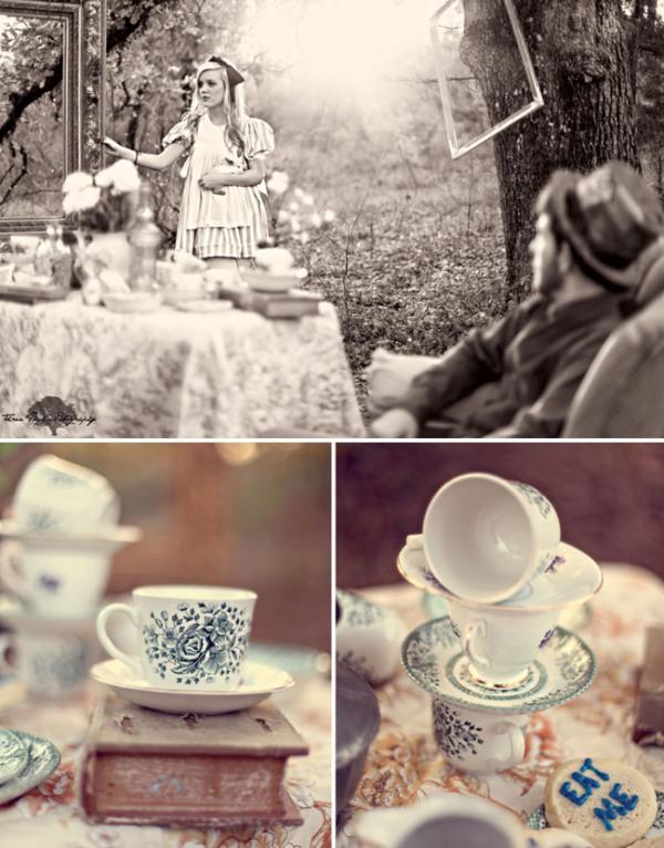 wonderland engagement photos 05 Under the Veil of a Fairytale
