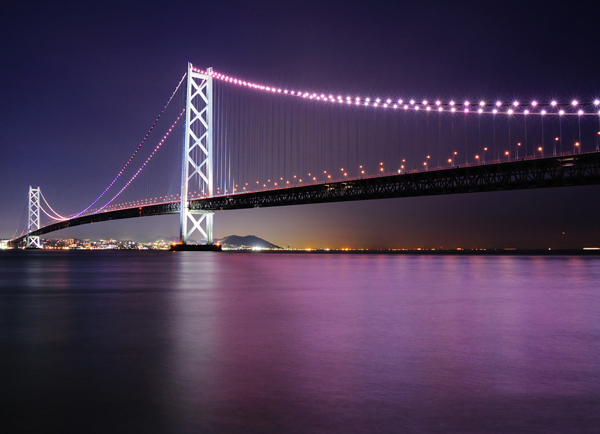 1024 768 Najlepši mostovi sveta: Most Akiši Kaikio, Japan