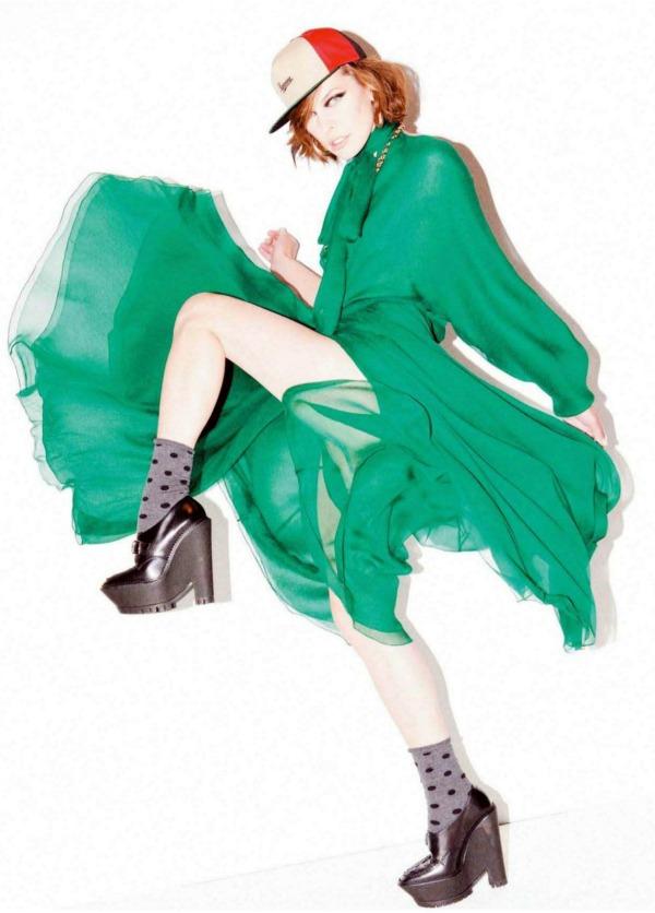 "115 Milla Jovovich za ""Jalouse"", septembar 2011."