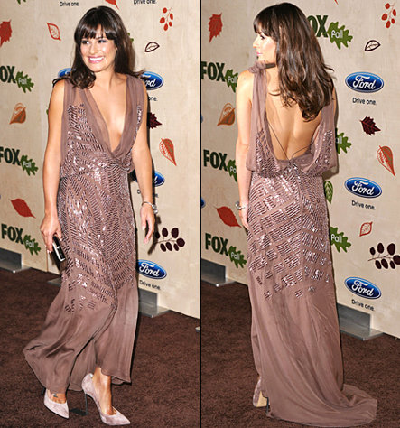 1315919471 lea michele back 467 Fashion police is back!
