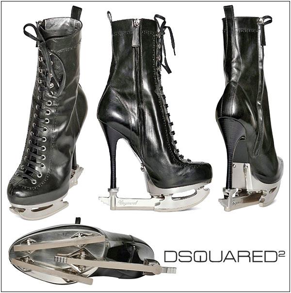 157 DSquared2: Čizme ili klizaljke?