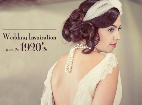 1920s wedding ideas 01 Under the Veil of a Fairytale