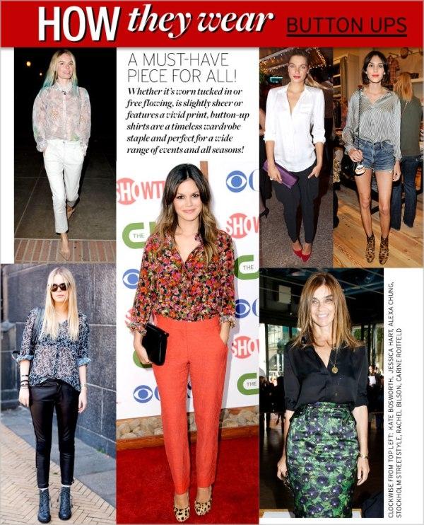 1 HTW buttonup222s Moda Holivuda: Trend izveštaj