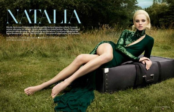 "2 Natalia Vodianova za ""Vogue Turkey"", septembar 2011."