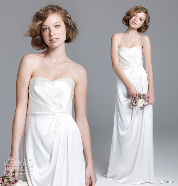 2011 jcrew bridal lorabelle wedding dress J.Crew, jesen 2011: klasična lepota kao inspiracija