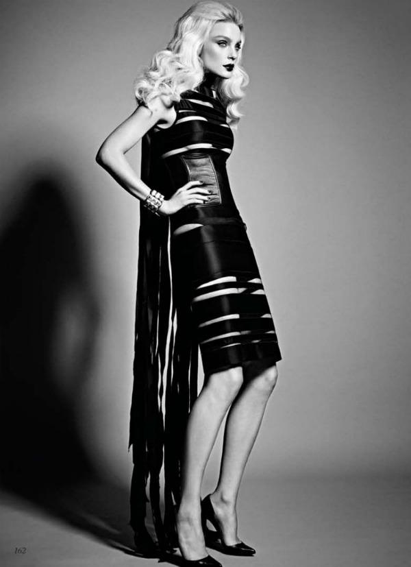 37 Jessica Stam za Flare   septembar 2011.