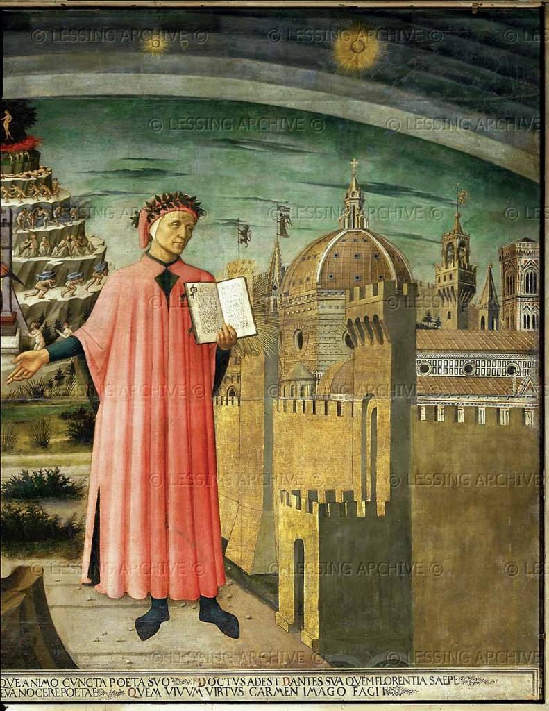 40080139 791x1024 Rinascimento: Dante Alighieri (1265 1321)