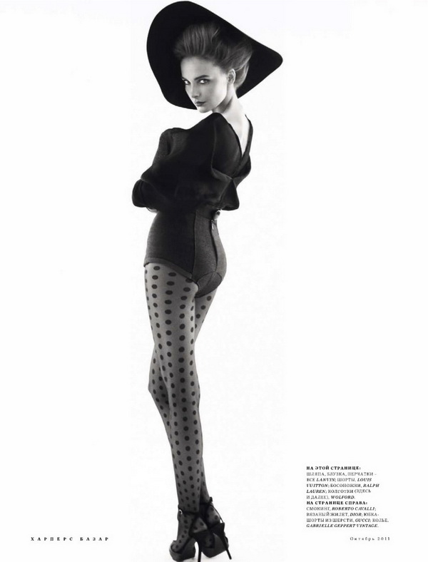 427 Snejana Onopka za Harpers Bazaar Russia, oktobar 2011.