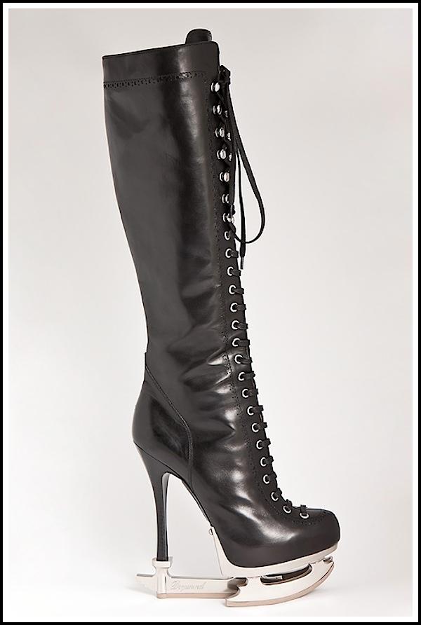 526 DSquared2: Čizme ili klizaljke?