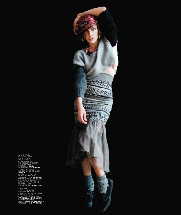 "74 Milla Jovovich za ""Jalouse"", septembar 2011."