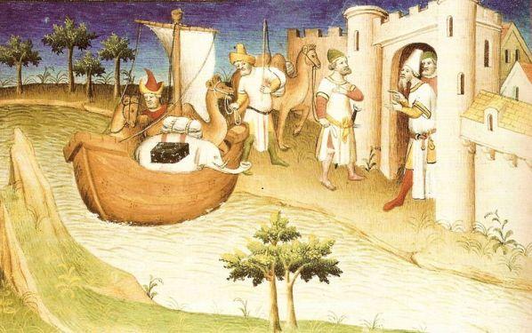800px Marco Polo traveling Ljudi koji su pomerali granice: Marko Polo