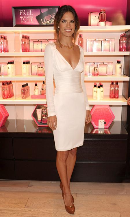 Alessandra Ambrosio Vogue Fashions Night Out New York