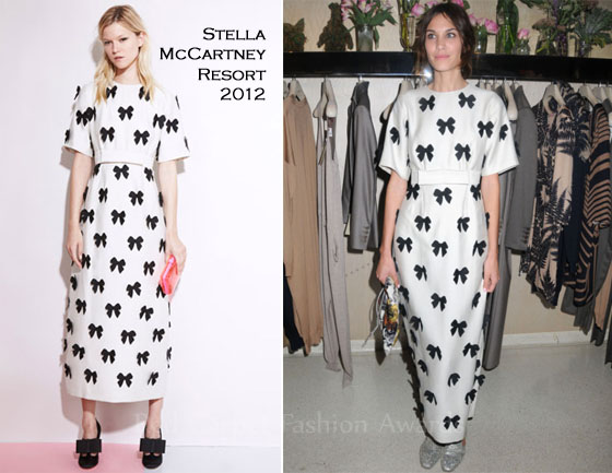 Alexa Chung Stella McCartney Fashion police is back!