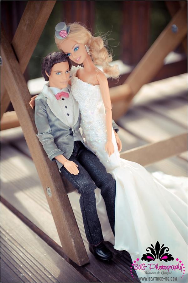 BK 134 Barbie and Ken Got Married!