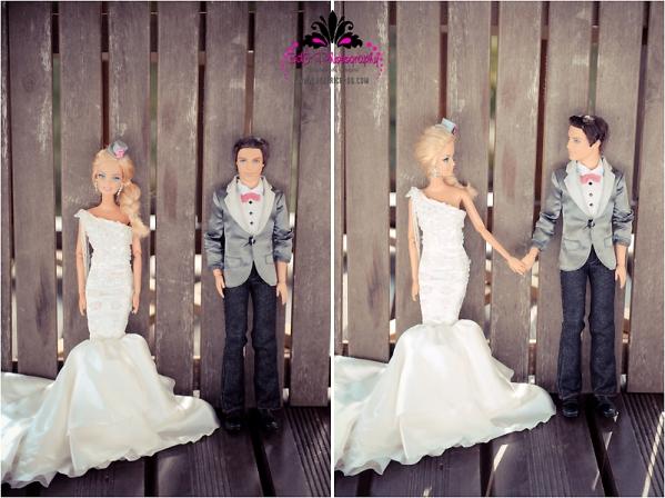 BK 156 Barbie and Ken Got Married!