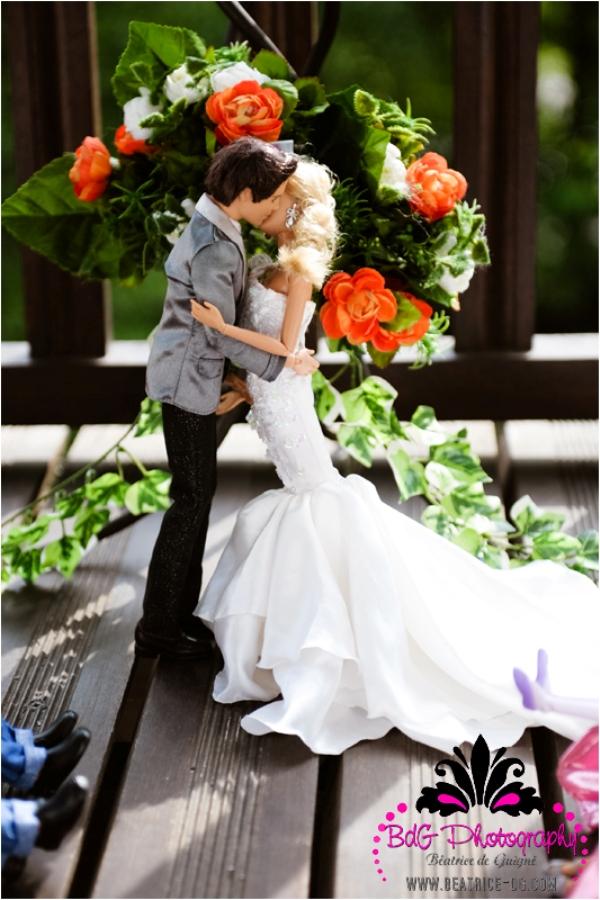 BK 199 Barbie and Ken Got Married!