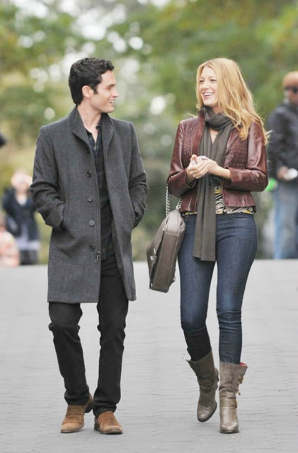 Blake Lively And Penn Badgley 2009 4 Gossip Girl groznica