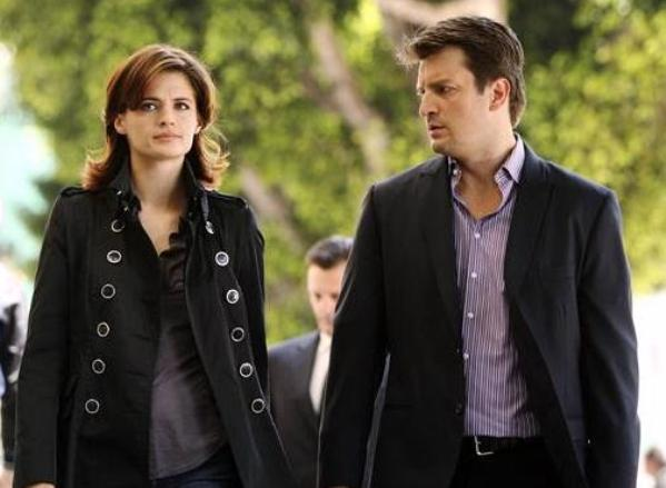 Castle Stana Katic Nathan Fillion TV Show: poslovni stil, drugi deo
