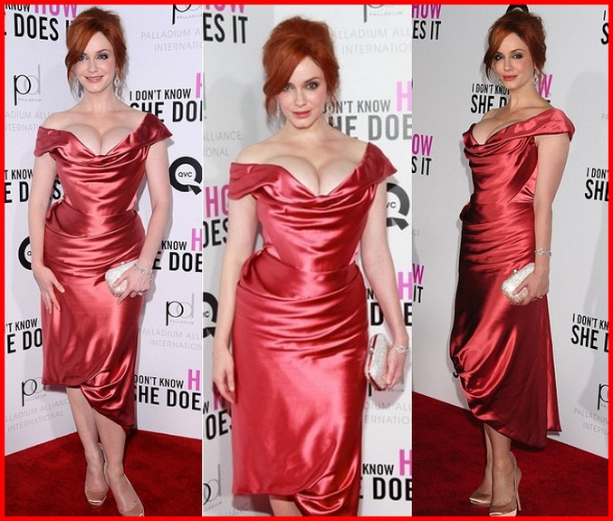 Christina Hendricks Measurements Stole The Show Of I Dont Know How She Does It was 4 Fashion police is back!